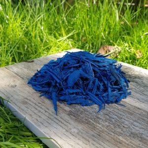 uk blue rubber mulch