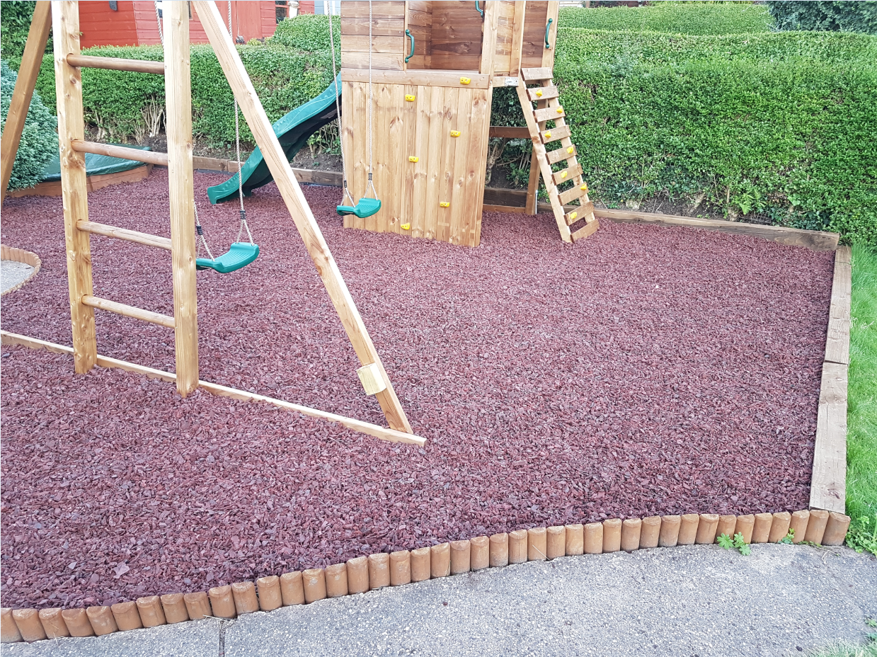 Rubber Mulch Safety Play